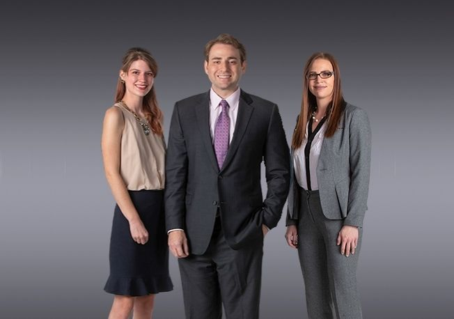 From left to right:  Mackenzie J. Schwartz, Daniel Aizenman, Rachael Krashin